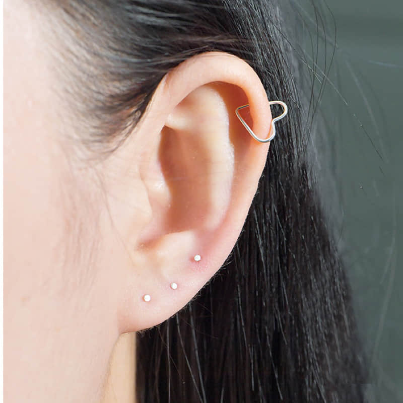 2019 stud korean earrings 925 sterling silver High Quality Round Earrings for Women femme men Cute Gold Color Jewelry Party Gift