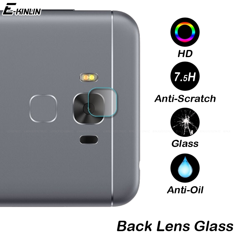 Camera Lens Screen Protector Film Tempered <font><b>Glass</b></font> For <font><b>ASUS</b></font> ZenFone 3 3S Max Laser Deluxe ZS570KL ZC520TL ZE520KL ZE552KL <font><b>ZC553KL</b></font> image
