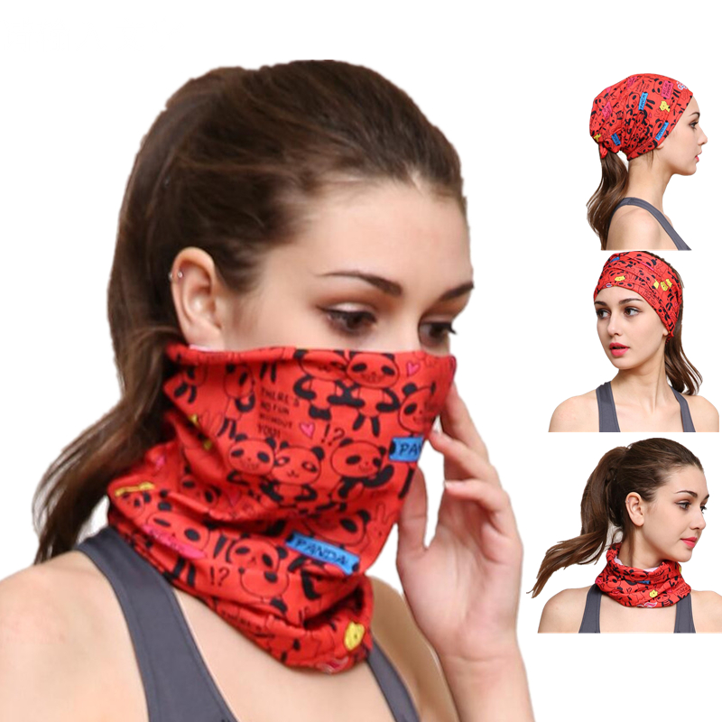 Summer Riding Headwear Anti-UV Cycling Head Scarf Magic Bike Sports Headband Outdoor Bicycle Full Face Neck Guard Masks M094