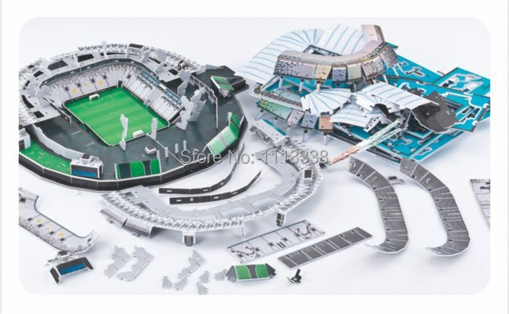 3d Football Stadium Puzzle Clever   Juventus StadioDelleAlpi Stadium Puzzle  Construction Puzzle 3d Puzzles Fans Souvenirs-in Puzzles from Toys    Hobbies on ... f4f641a9e97