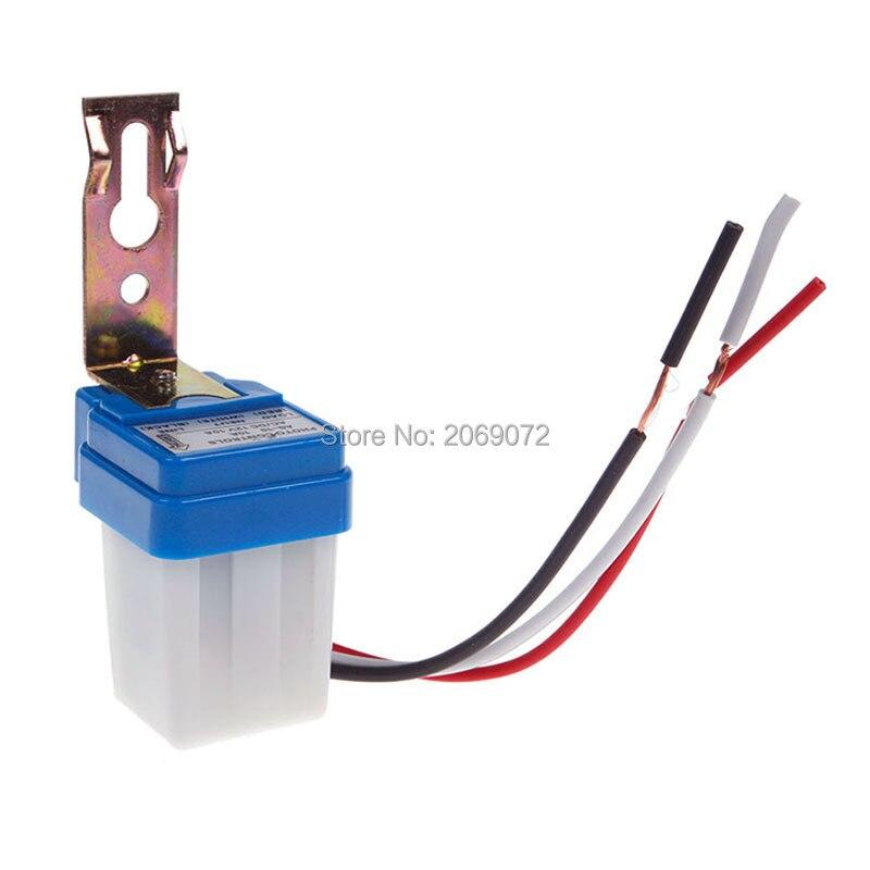 Auto On Off Light Switch Photo Control Sensor For Ac 220v