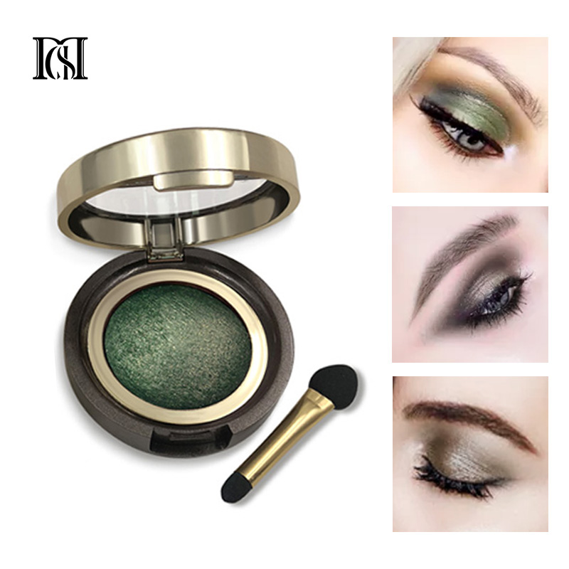 D.S.M Brand New Mineralize Eye Shadow Waterproof Long-lasting Cosmetic Eyes Perfect Shades Luminous Pigment Makeup Eyeshadow(China)