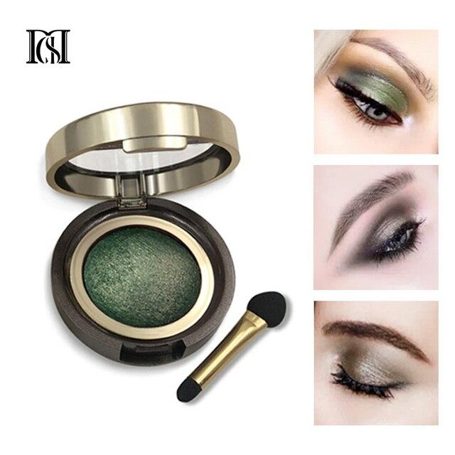 D. S. M a estrenar sombra de ojos mineral resistente al agua ojos cosméticos de larga duración sombras perfectas pigmento luminoso maquillaje sombra de ojos