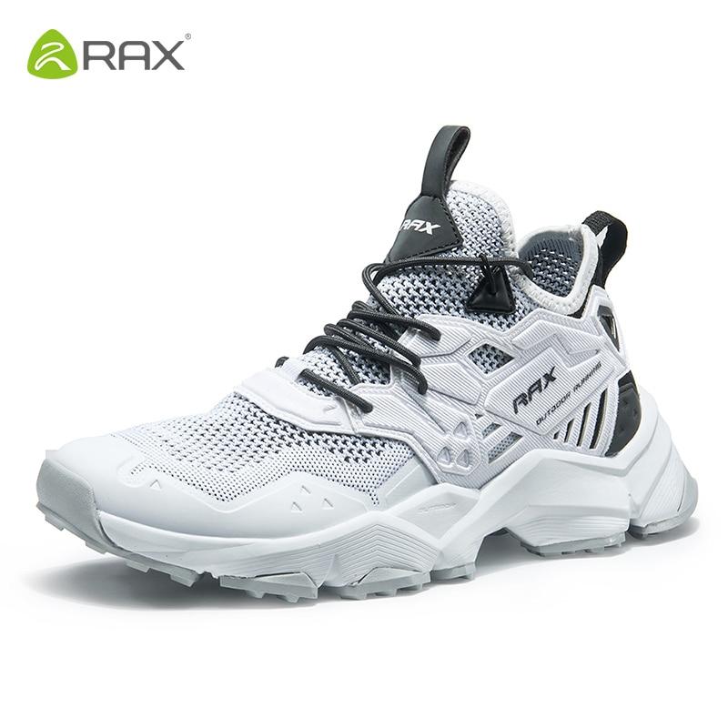 Rax hommes chaussures de course respirant Sports de plein air baskets hommes maille athlétique formateurs amorti Gym baskets Zapatillas Hombre
