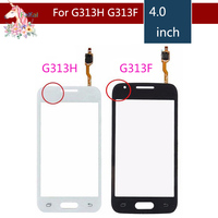 10pcs/lot For Samsung Galaxy Ace 4 G313 touch screen G313F G313H Touch Screen Digitizer Sensor Outer Glass Lens Panel