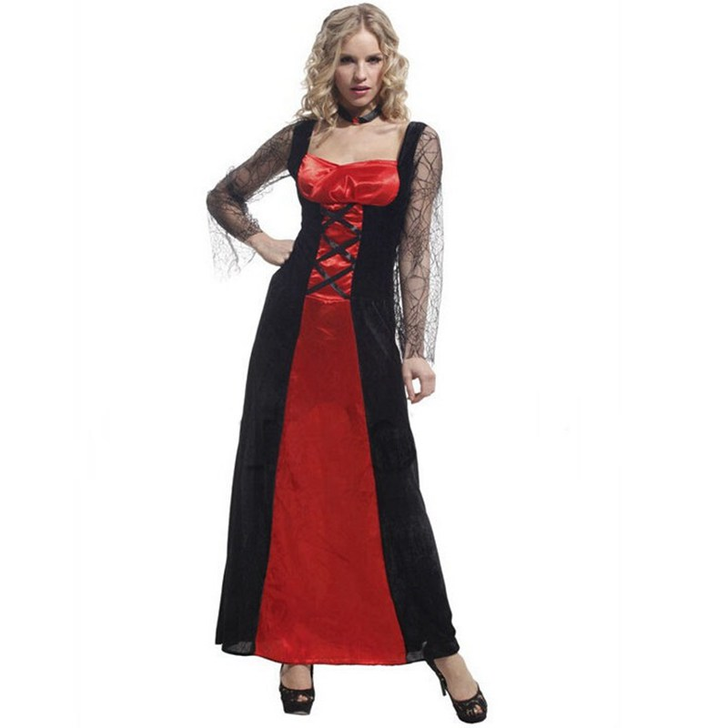 Useful Free Shipping!!all Saints Party Clothing, Costume Party Dress, Sexy Belle Vampire Witch