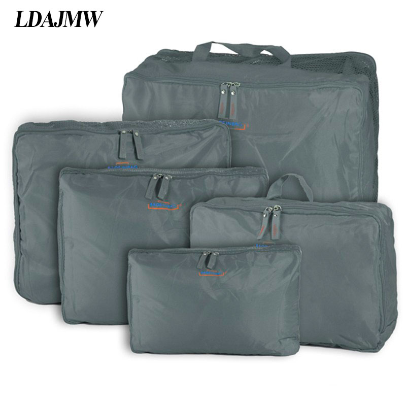 LDAJMW Bamboo Charcoal Clothing Storage Box Case Gray Folding Organizer Holder Bags Transparent Inspection For Clothes Blanket