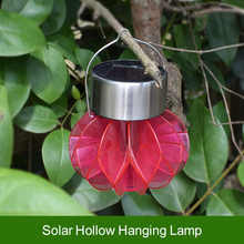 цена на ZINUO Solar Powered Chandelier Light Solar Lamps Waterproof Portable Landscape Camping Hanging Energy Saving Lamp for Tree