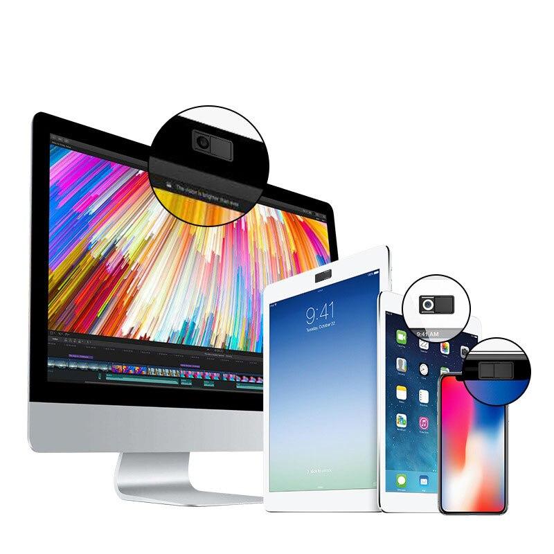 3 шт. защиты конфиденциальности веб-камера охватывает ультра тонкий Камера щит защитника чехол для iPad смартфон планшетный компьютер Mac порт...