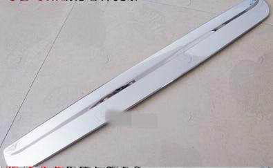 Pour NISSAN QASHQAI DUALIS 2007-2013 CHROME couvercle de coffre arrière garniture de hayon poignée de porte arrière bande d'appui garniture de botte 2009 2010