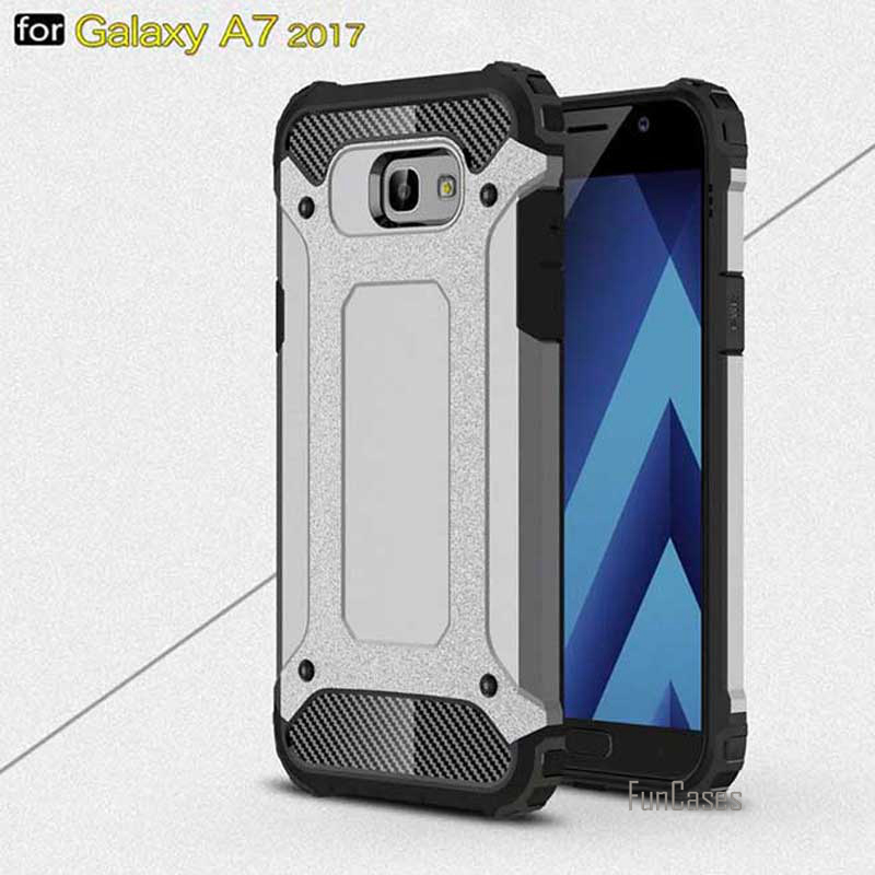 Case for Samsung 2017 Galaxy A7 Back Cover Hard Hybrid Dirt-resistant Phone Cases for Samsung Galaxy A720 A720f SM-A720 5.7 inch