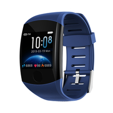 New 1.3inch color screen Q11 smart watch continuous heart rate blood pressure monitoring multi-sports mode FOR: iphone Samsung