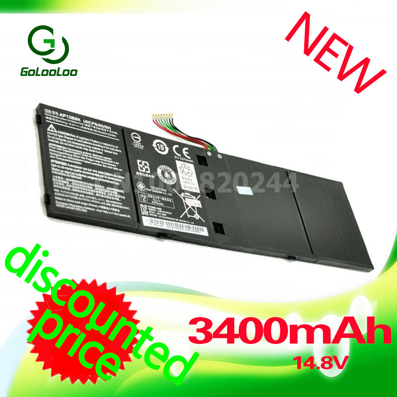 Golooloo 14.8V Laptop Battery For Acer Aspire AP13B3K AP13bPB8K M5-583P R7 V5-572P R7-571 V5-572G