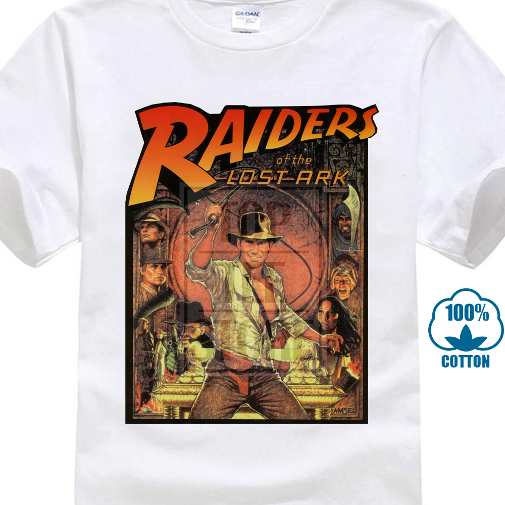 Raiders Of The Lost Ark T Shirt Indiana Jones 80 S Cult Movie Film Birthday