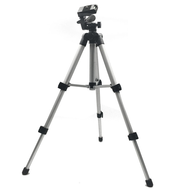 Alloy Aluminium 3 section mini Tripod digital Camera tripod phone portable travel smartphone tripod for selfie action camera