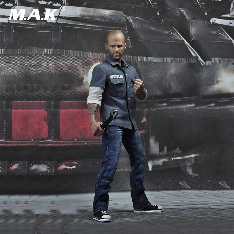 1/6 Scale EX004 Death Race Driver Frankenstein Jason Statham Full Set Action Figure Model for Collections 1 6 scale full set soldier the lord of the rings elven prince legolas action figure toys model for collections