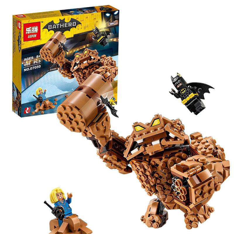 Lepin-07050-New-469Pcs-Batman-Movie-Series-The-Rock-Monster-Clayface-Splat-Attack-70904-Building-Blocks (1)