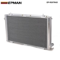 Performance Radiator Manual aluminum 42mm2 Row For 92 00 SUBARU IMPREZA WRX/Sti GC8 EP R207RAD