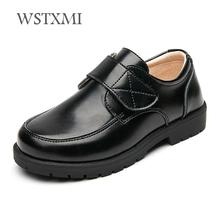 Boys Wedding Leather Shoes for Kids Genuine Leather Student School