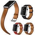 Высокое Качество Кожаный Ремешок Для Серии 2 Apple Watch один Тур Браслет Ремешок Для Apple Watch iWatch 42 мм 38 мм