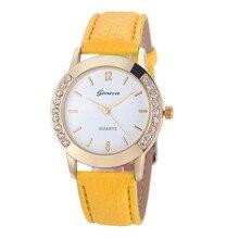 New Women graceful Watches Fashion & Casual Special Birthday Gift Creative Ladies Watch  Leather Strap Quartz Relogio Feminino