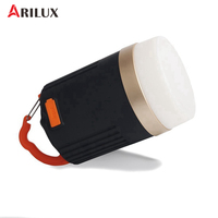 ARILUX Portable Outdoor Light Camping Lantern 440 Lumens Multifunction USB Rechargeable LED Light With 10400mAh Power Bank