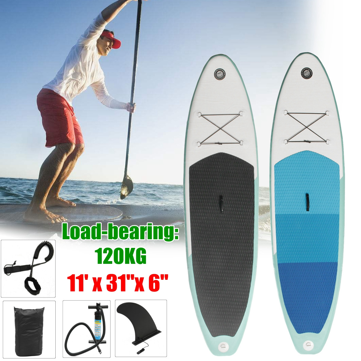 NEW 2018   Inflatable SUP Board   Best Seller   Divers