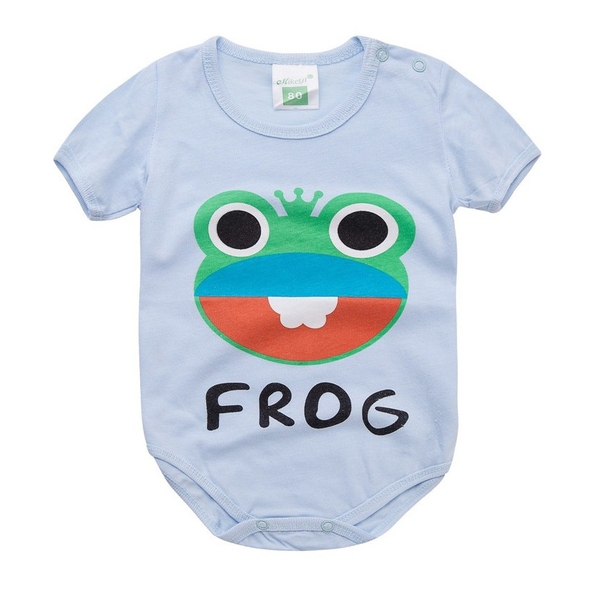 ee2212950 Unisex Baby Romper Colorful Cotton Newborn Clothes Cartoon Baby ...