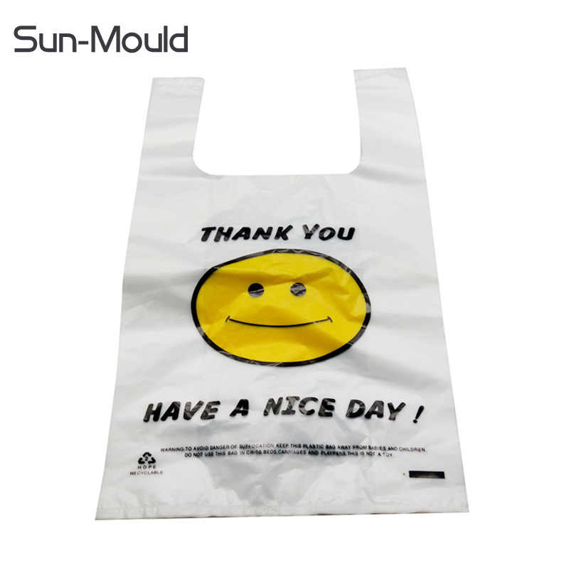 32cm*52cm  plastic shopping bag the supermarket bag  retail store plastic bag  100pcs free dropping