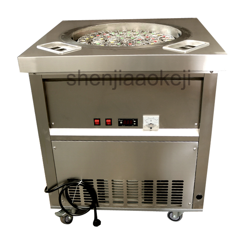 Commercial rotating popsicle machine Stainless Steel Automatic rotating ice rod machine ice cream machine ice-rolly machines 1pcCommercial rotating popsicle machine Stainless Steel Automatic rotating ice rod machine ice cream machine ice-rolly machines 1pc