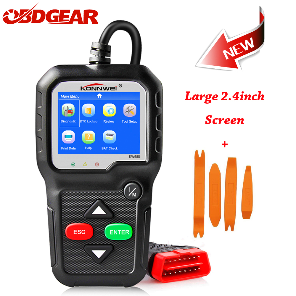 Original Car Diagnostic Tool OBD2 Automotive Scanner OBD 2 EOBD Better ELM327 Engine Fault Code Reader Scan Tools Car Sanner ноутбук lenovo thinkpad x280 20kf001rrt