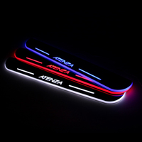 Car Styling LED Moving Door Scuff For Mazda 6 ATENEZA 2013 2015 Door Sill Plate LED