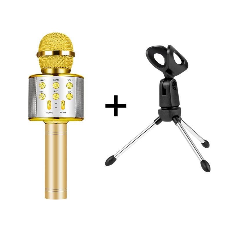 Микрофон беспроводная Bluetooth микрофон, чтобы петь для компьютера в любое время можно петь микрофон караоке - Цвет: Package01