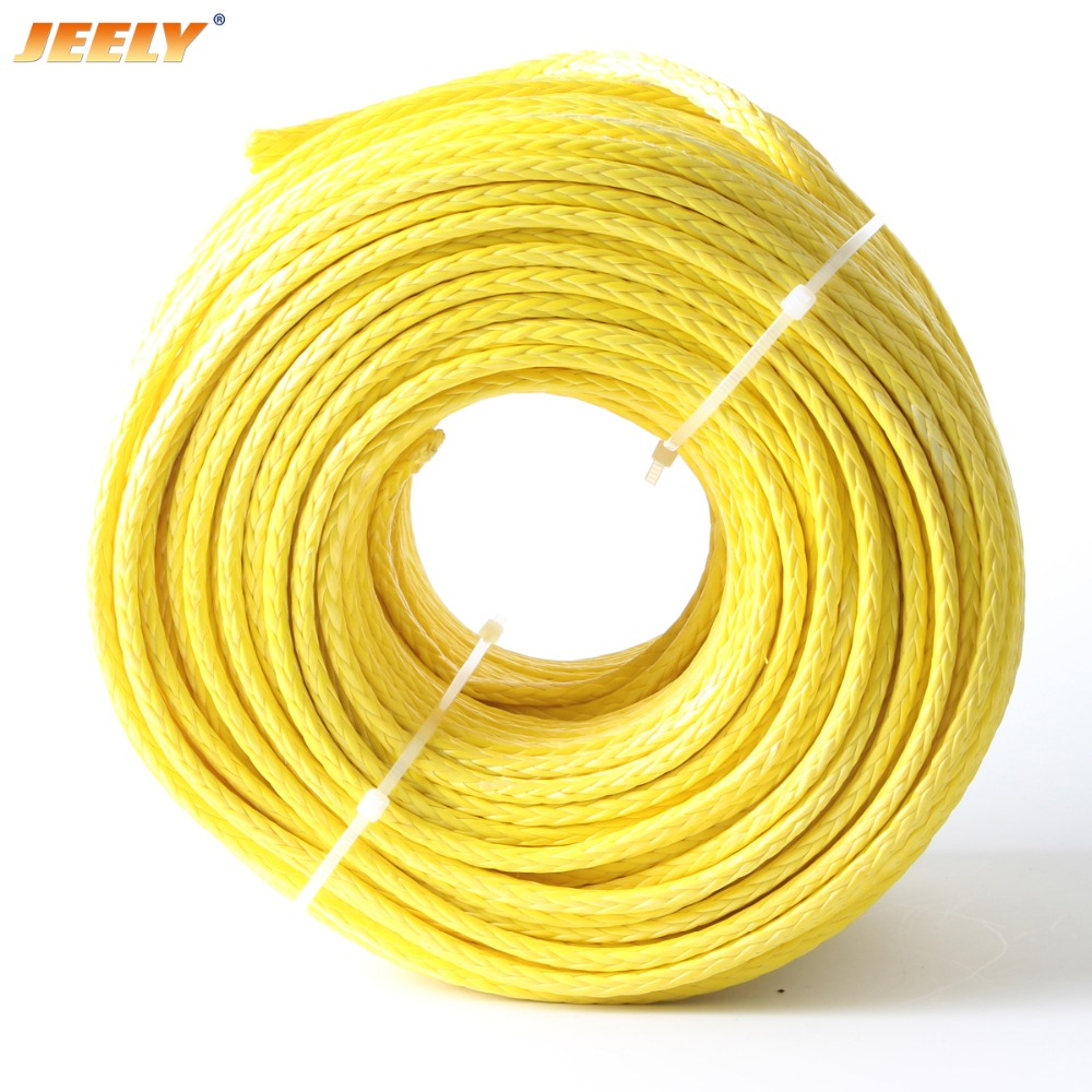Jeely 6mm 10m Glider Tow Ropes UHMWPE Rope 3260kg Winch Line