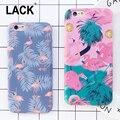 Moda suave imd caso funda para iphone 6 colorful flamenco para iphone 6 s 6 más lindo animal de la historieta cajas del teléfono de avestruz CALIENTE