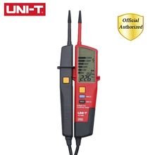 UNI-T UT18D Digital Voltmeter 690V AC DC Voltage Meter Metal Detector Waterproof Test Pen Full LCD Display RCD Test Auto Range стоимость