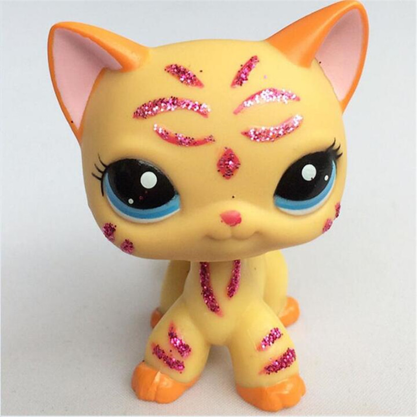 Lps Pet Shop Anime Figure Pvc Cute Animal Dog Cat Kitty Model Hot