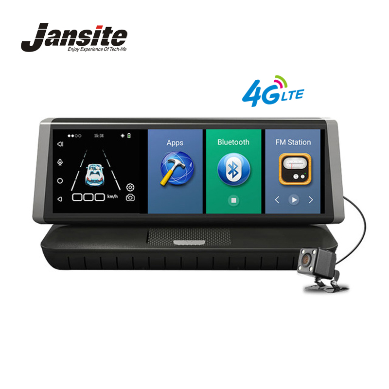 Jansite Car font b Dvr b font 4G Android 5 1 Wifi GPS 8 Touch Full