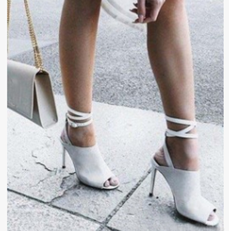 Summer Women Sandals 2017 High Heels Buckle Strap Women Sandalias Mujer Open Toe Ankle Strap Thin High-heeled Women Shoes  summer women sandals open toe matte shiny leather t strap buckle high heels platform sandalias mujer fashion shoes woman