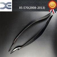 Carbon Fiber Car Light Decoration Sticker Exterior Accessories FOR BMW 08 13 X5 E70 Car Stickers