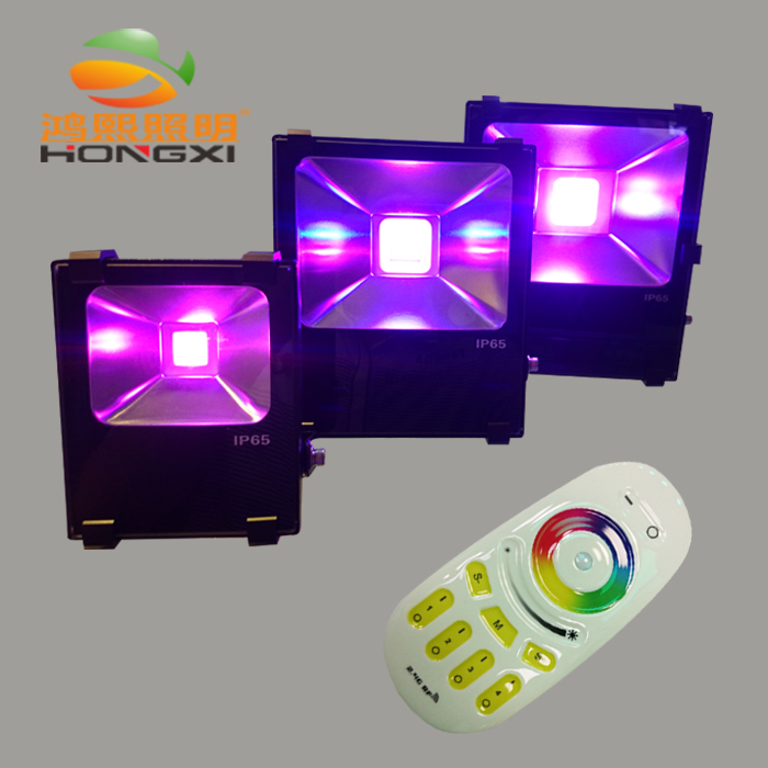 ФОТО IPROLED 40W RGBW led flood light for park home garden led light
