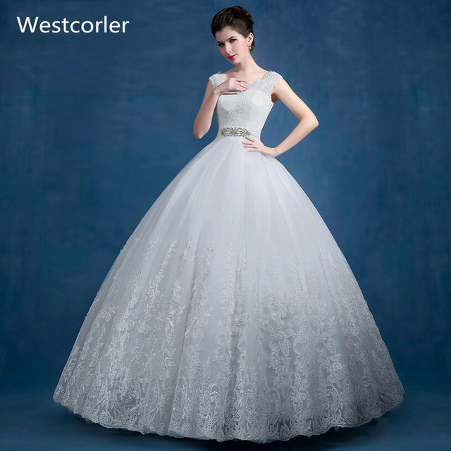 2017 New Charming Ball Gown Wedding Dresses Cheap Off The Shoulder ...