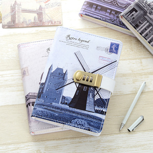 Image 3 - New Personal Diary Notebook with lock code Business A5 thick Notepad Daily Memos Office school supplies gift