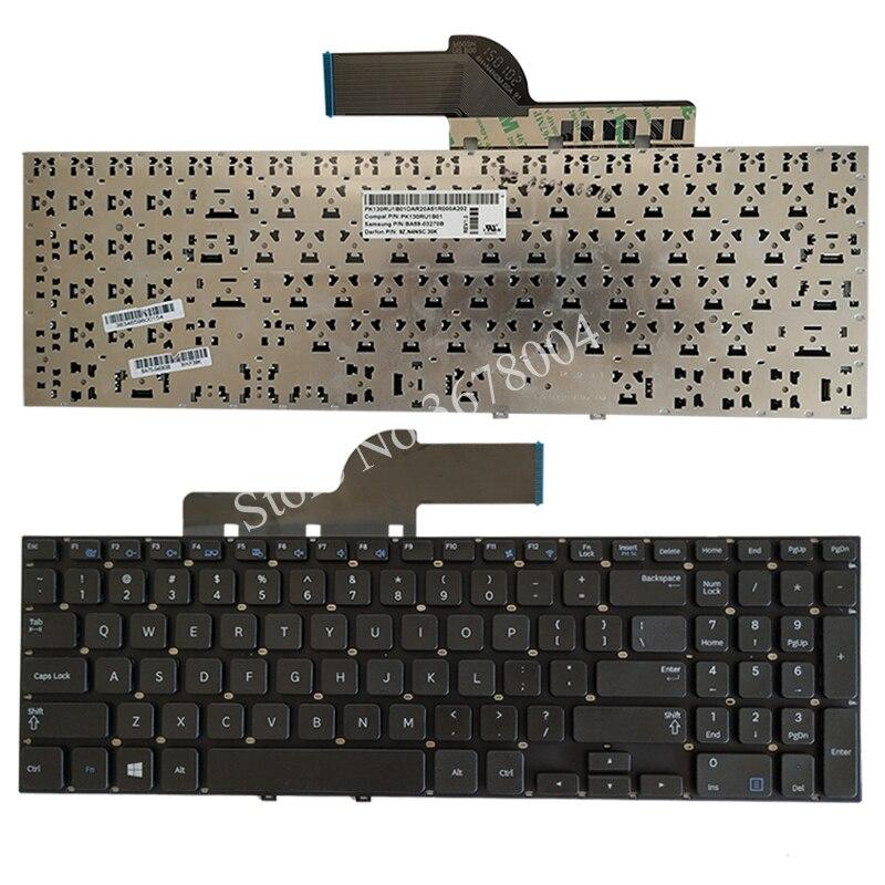 NEW Keyboard for Samsung 270e5v 275e5v 275E5E 270E5E NP270E5E NP275E5E NP270E5V NP275E5V Black US laptop keyboard
