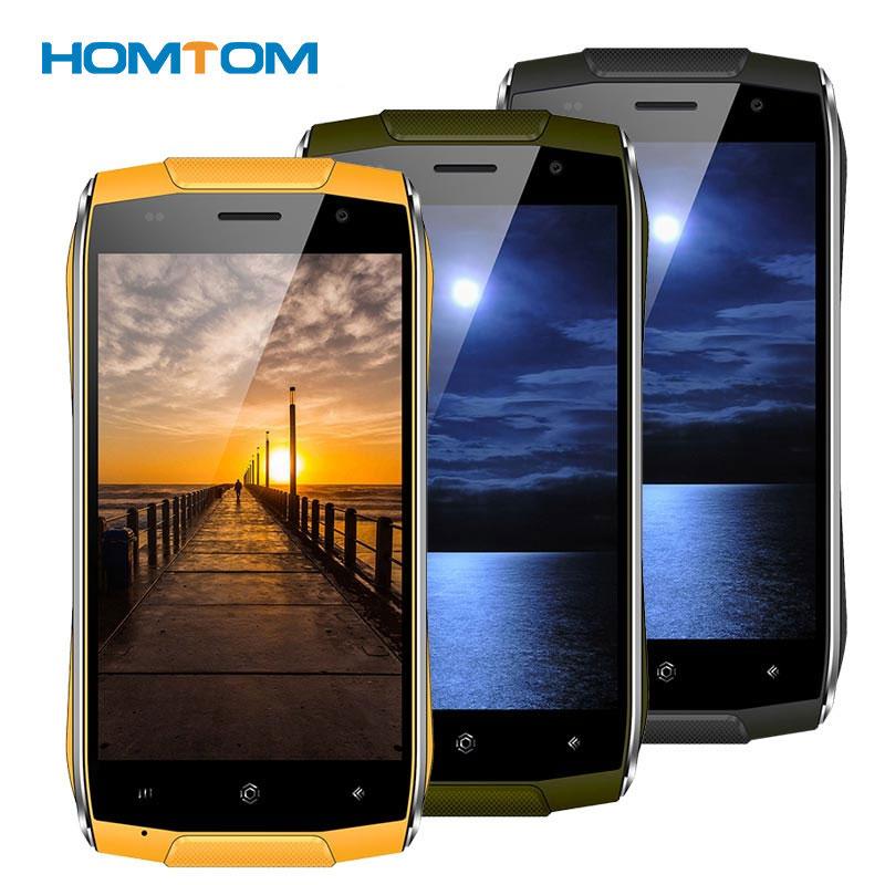 bilder für HOMTOM ZOJI Z6 IP68 Wasserdichte Handy MT6580 Quad Core 1,3 GHz Fingerprint 3000 mAh 1 GB + 8 GB dual-Cam 4,7 Zoll 3G Smartphone