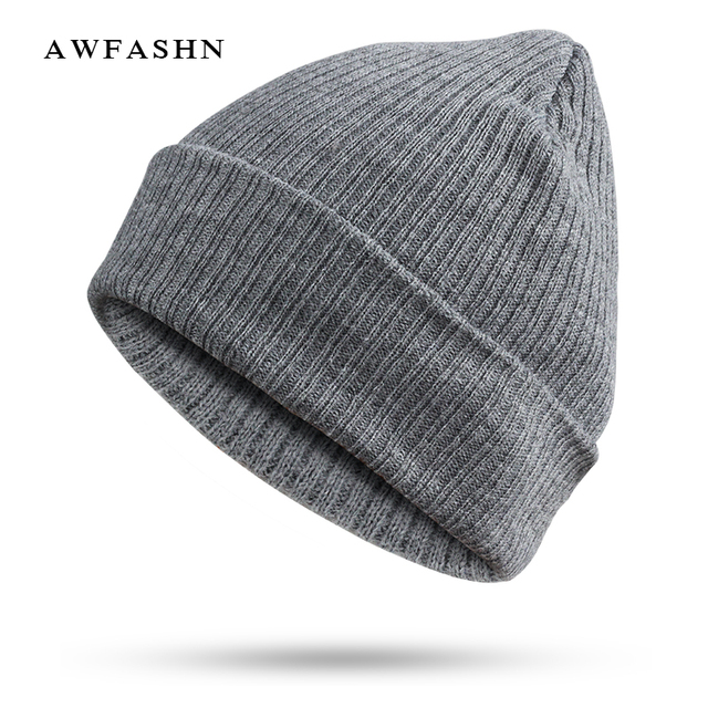 977ead16d4a5e 2017 Fashion Hip Hop Beanie Winter Knit Hat Autumn Hedging Hat For Women Men  Skullies Warm