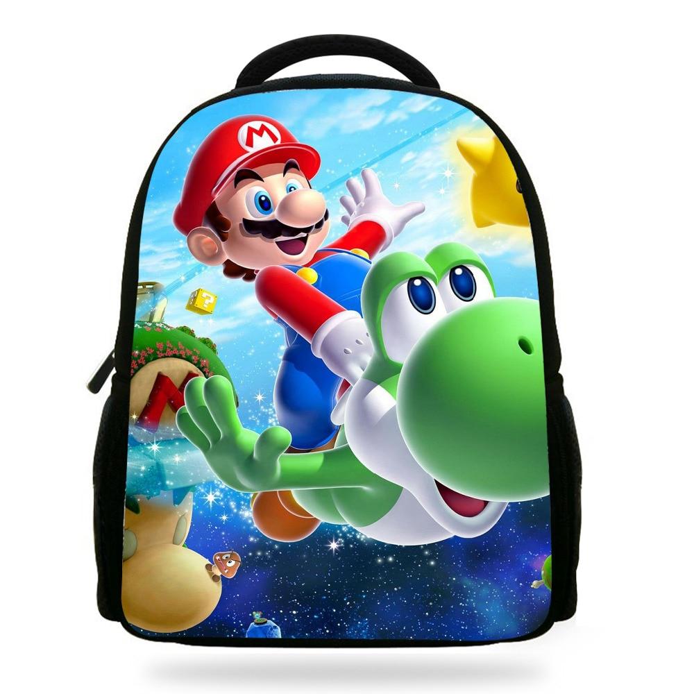 14 Zoll Nette Mochila Super Mario Schultasche Für Jungen Bookbag Kinder Rucksack Super Mario Kinder Tasche Für Mädchen Infantil Menina