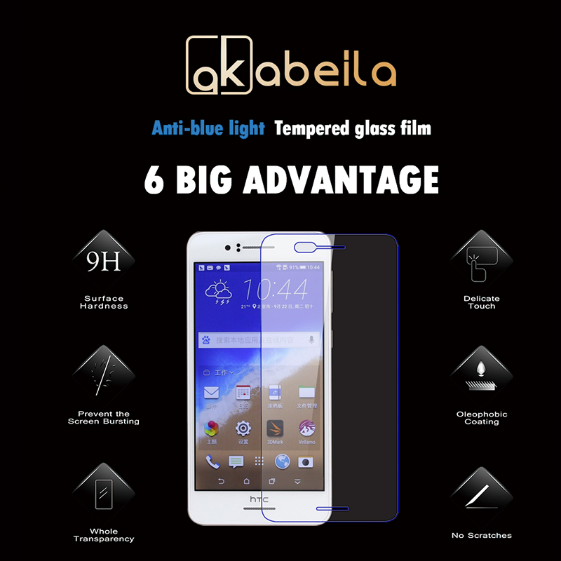 AKABEILA Premium Glass For HTC Desire 728 728G Dual Sim D728T D728W Screen Protector HD Protective Film For HTC Desire 728
