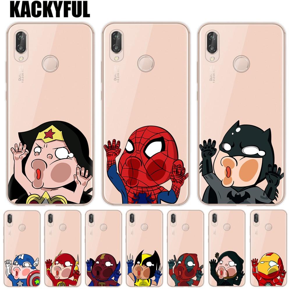 top 9 most popular silicone case super hero huawei p8 lite ideas ...