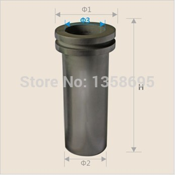 Melting Furnace tool Part Graphite Crucible 2kg Capacity Jewelry tools 5pcs/lot